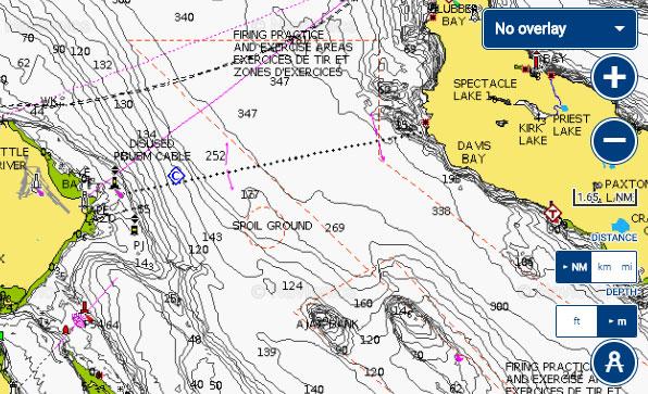 Courtenay Comox fishing report map